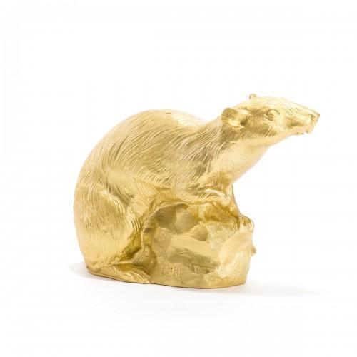 Schlossratte, gold