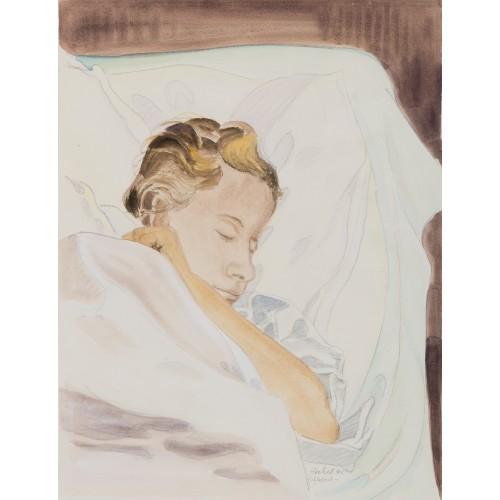 Schlafende (Siddi Heckel)
