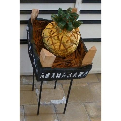 Kiste-Ananas