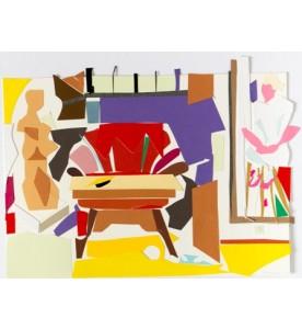Der rote Sessel im Prälatenflügel
