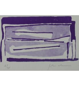 weiß/violett