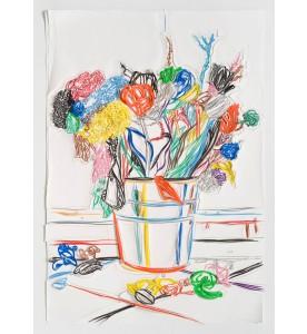Blumen mit Bodenblüten