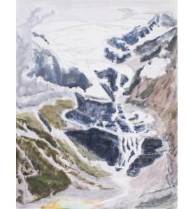 Gletscher-Abfluss (Palu)