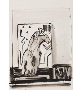 Chimäre (vgl. Holzschnitt Dube H 426, 1957)