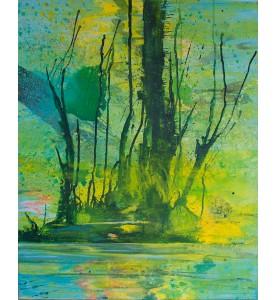 """Reflexion über """"im Fluß"""". Baum"""